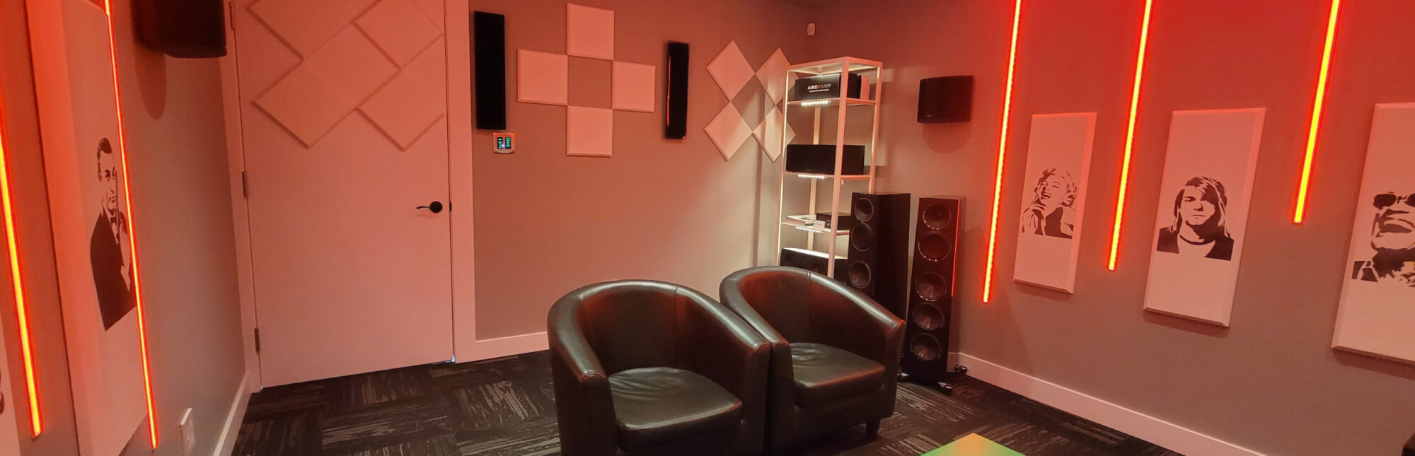 Salle audio visuel